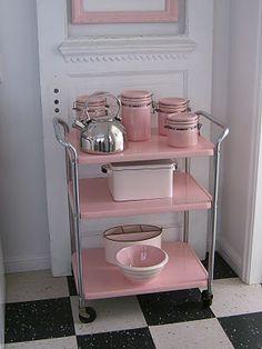 7 idee per un carrello da cucina in stile shabby chic, provenzale ... - Cucine Rosa