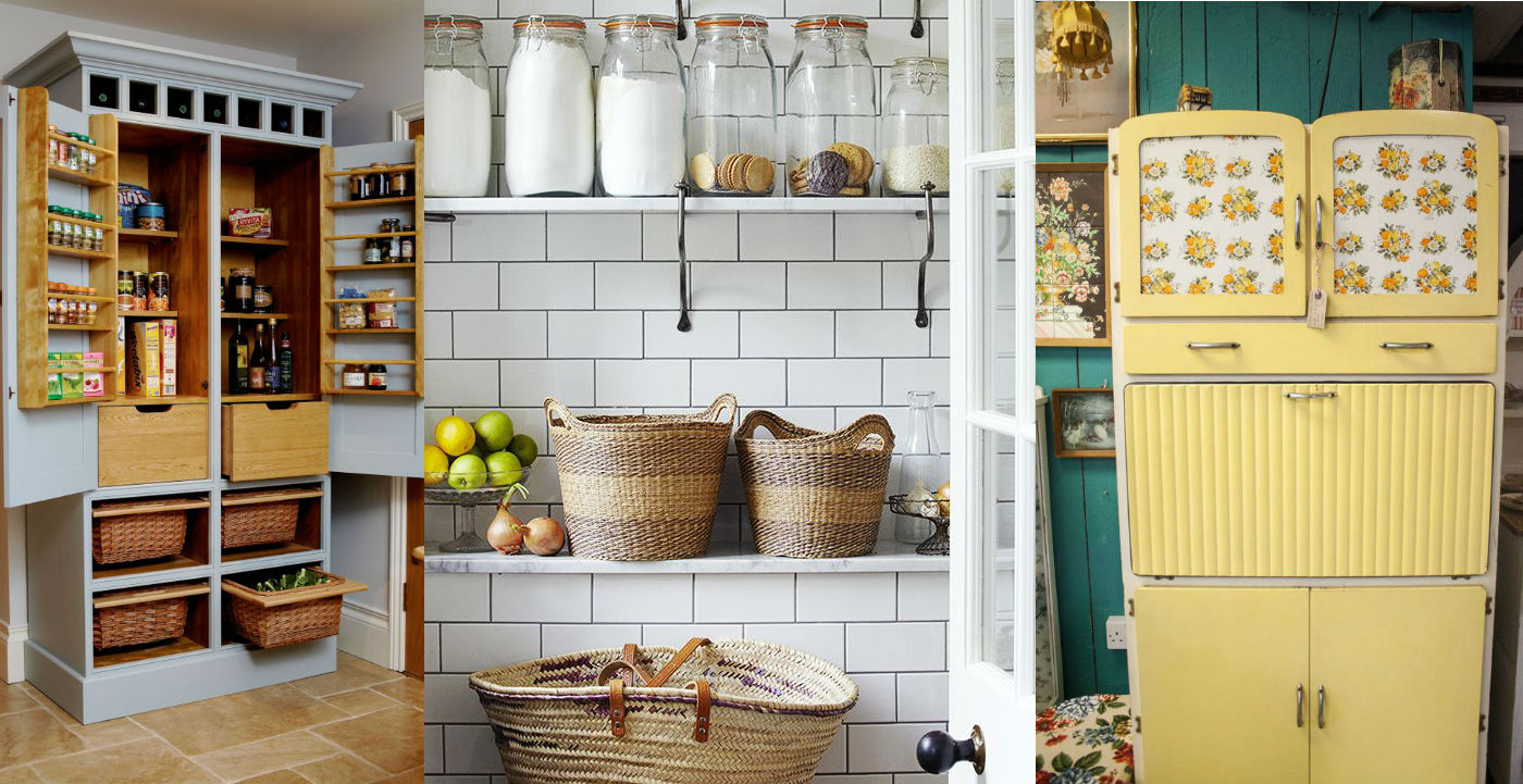 7 idee per una dispensa in stile shabby chic provenzale e for Costo per costruire una dispensa