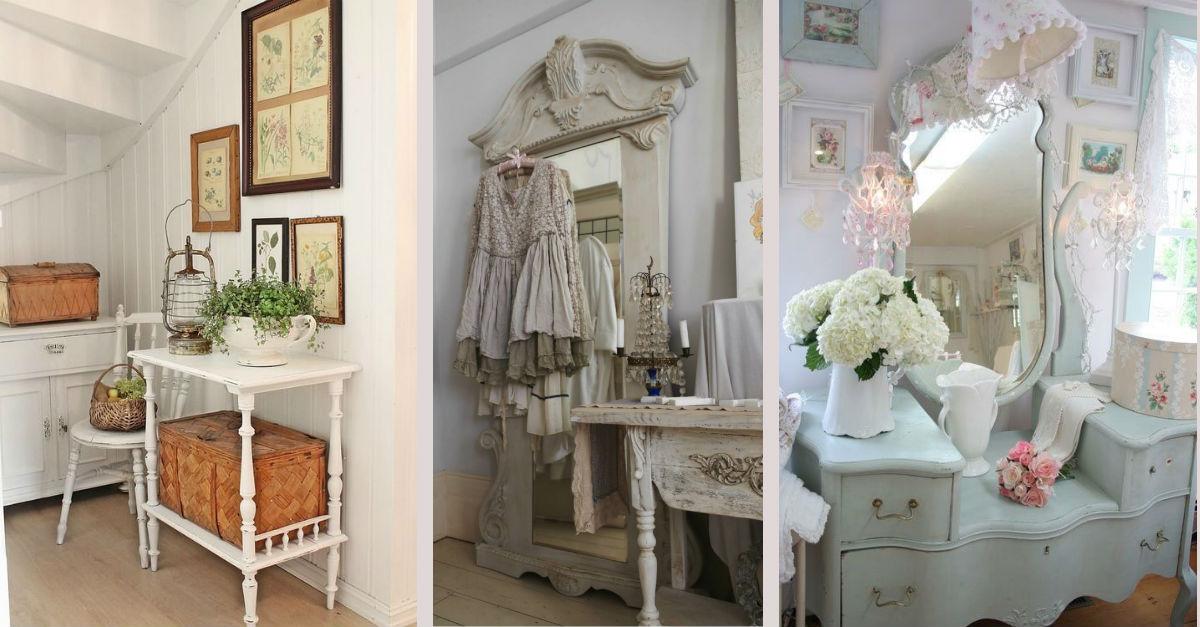 7 idee vintage per la casa shabby chic provenzale e for Arredare casa riciclando