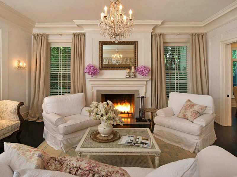 La casa shabby chic di jessica simpson arredamento for Casa country chic