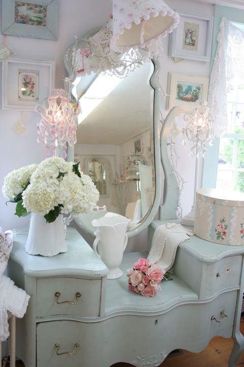 7 idee vintage per la casa shabby chic provenzale e for Toilette shabby chic