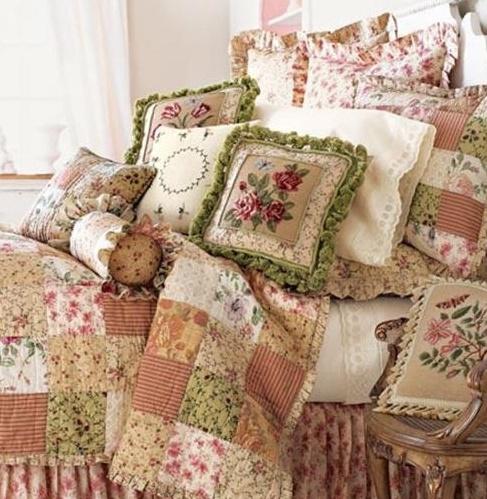 7 idee per la biancheria da letto in stile shabby chic - Biancheria per il letto on line ...