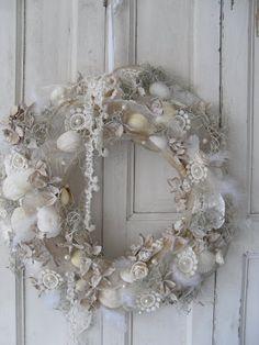 7 idee per decorazioni natalizie in stile shabby chic - Decorazioni natalizie stile shabby chic ...