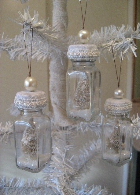 7 idee per una lanterna natalizia in stile shabby chic for Lanterne bianche