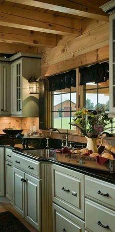 7 idee per rinnovare i colori della vostra cucina Shabby Chic ...