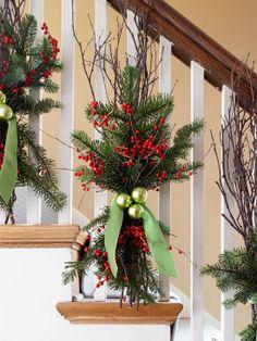 Decoriamo L Ingresso Di Casa Per Natale In Stile Shabby