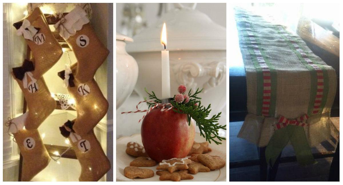 idee fai da te per un Natale Shabby Chic, provenzale e country ...