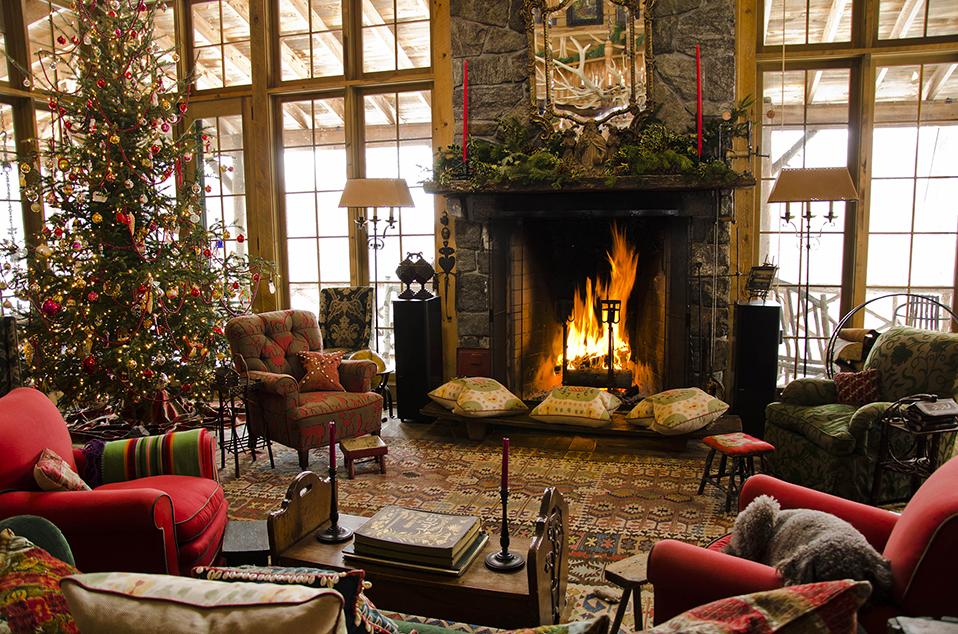Populaire 7 bellissime case Shabby Chic addobbate per Natale - Arredamento  XJ25
