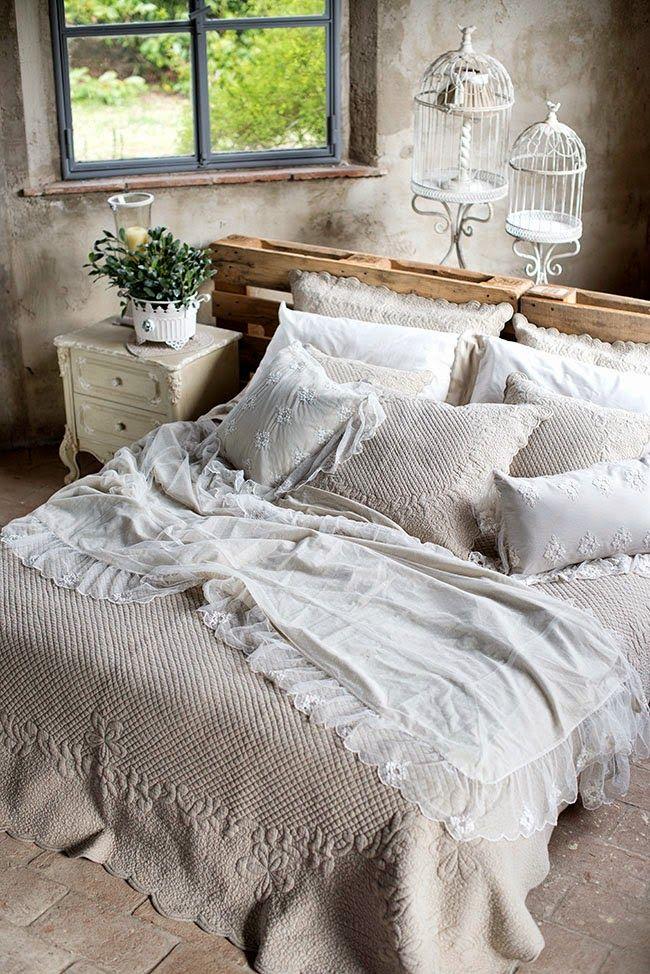 La camera da letto Shabby Chic, provenzale e country secondo ...