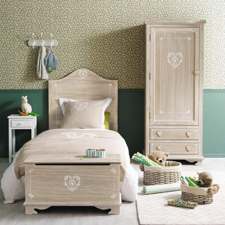 camera-letto-legno-maison-du-monde