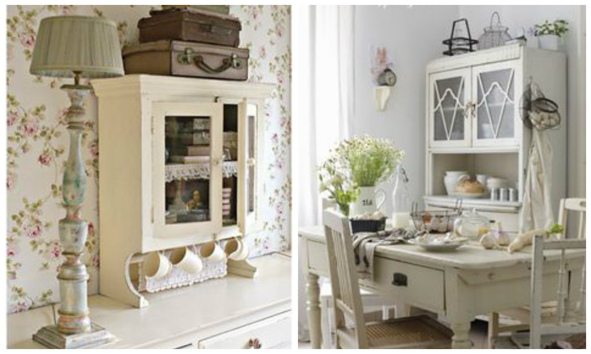 Idee shabby chic provenzali e country per arredare un for Arredamento stile country