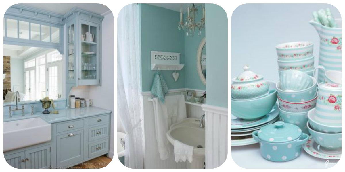 7 consigli per arredare la casa in azzurro con lo stile Shabby Chic ...