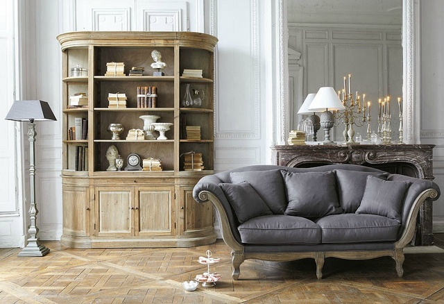 divani shabby chic da maison du monde e altri brand. Black Bedroom Furniture Sets. Home Design Ideas