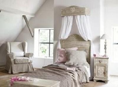 Il letto shabby chic secondo maison du monde arredamento for Maison du monde ka che