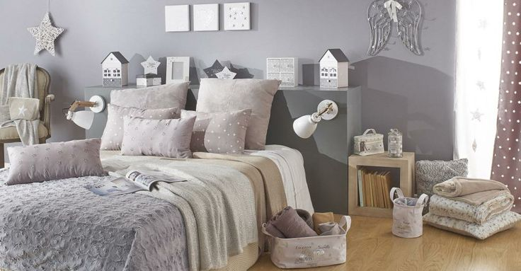 il letto shabby chic secondo maison du monde arredamento provenzale. Black Bedroom Furniture Sets. Home Design Ideas
