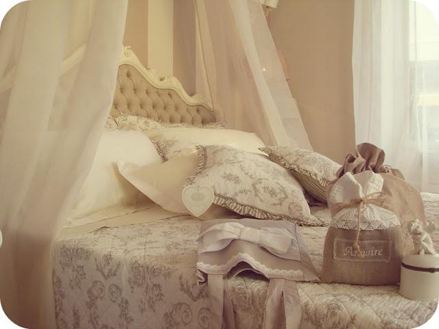 La camera da letto Shabby Chic, provenzale e country secondo Blanc ...