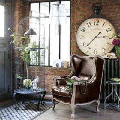 orologi shabby chic da maison du monde - arredamento provenzale
