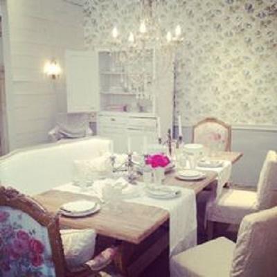 La sala da pranzo Shabby Chic secondo Rachel Ashwell ...