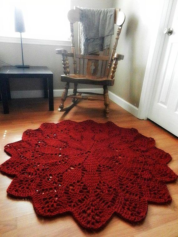 Il rosso nella camera da letto shabby chic   arredamento provenzale