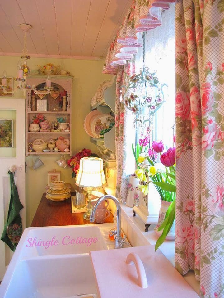 La primavera shabby chic alla finestra, idee romantiche per ...