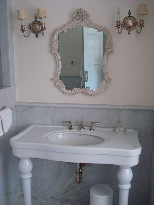 Il bagno shabby chic secondo rachel ashwell arredamento provenzale - Bagno shabby chic ...