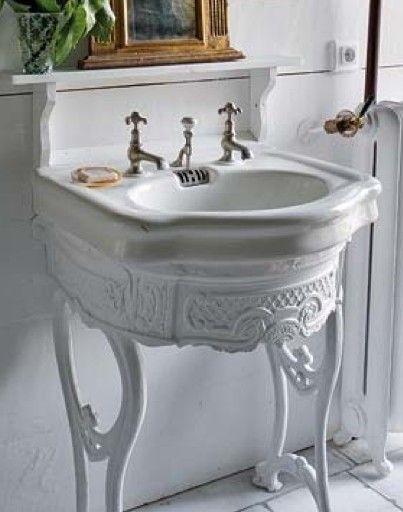Idee tra vintage e riuso per il bagno in stile Shabby Chic ...