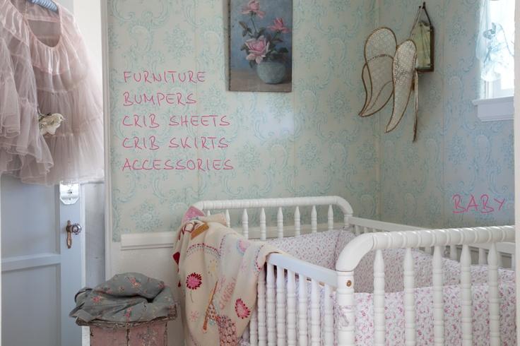 Cameretta Stile Shabby Chic : Idee per la cameretta dei bimbi shabby chic firmate rachel ashwell
