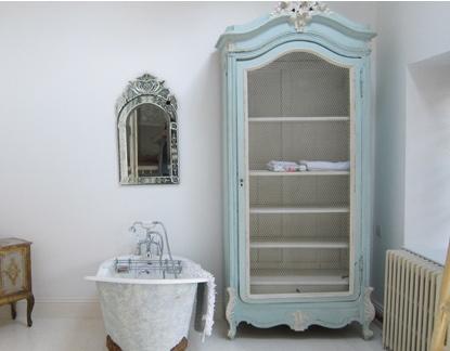 Il bagno shabby chic secondo rachel ashwell arredamento provenzale - Arredo bagno shabby chic ...