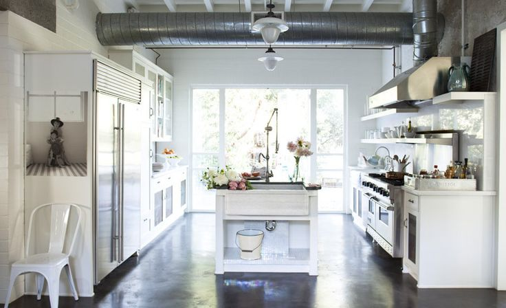 la cucina bianca shabby chic secondo rachel ashwell - arredamento ... - Cucine Country Bianche