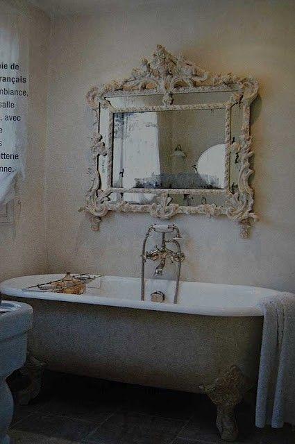 Idee tra vintage e riuso per il bagno in stile shabby chic - Bagno provenzale shabby ...