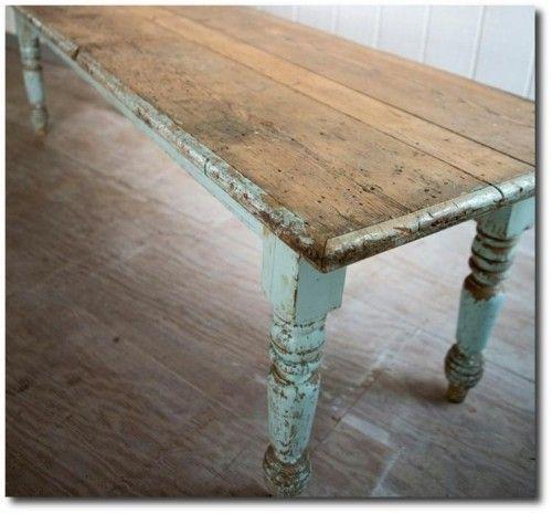Il legno decapato nella casa Shabby Chic - Arredamento Provenzale