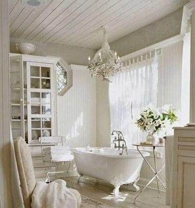 armadio bianco bagno : Il perfetto armadio Shabby Chic per il bagno - Arredamento Provenzale