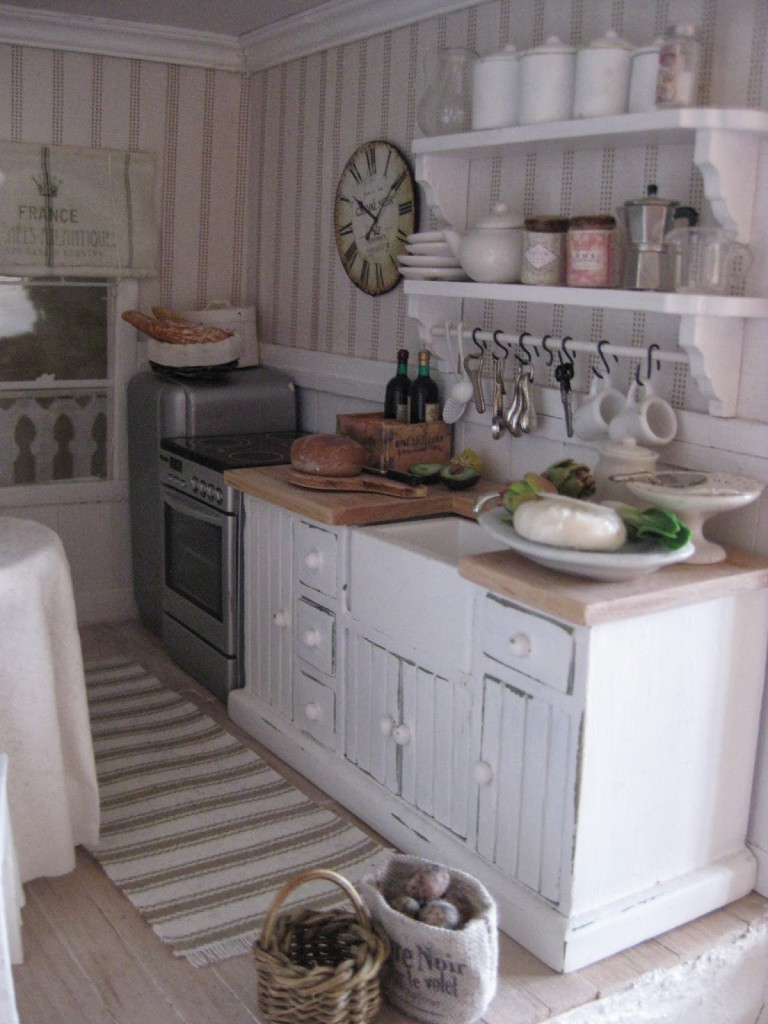 Il tappeto shabby chic in cucina una gallery di ambienti for Tappeti country chic