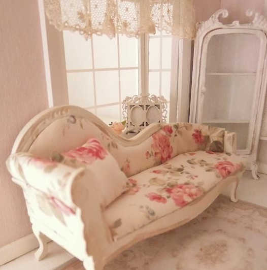 la chaise longue in chiave shabby chic arredamento provenzale. Black Bedroom Furniture Sets. Home Design Ideas