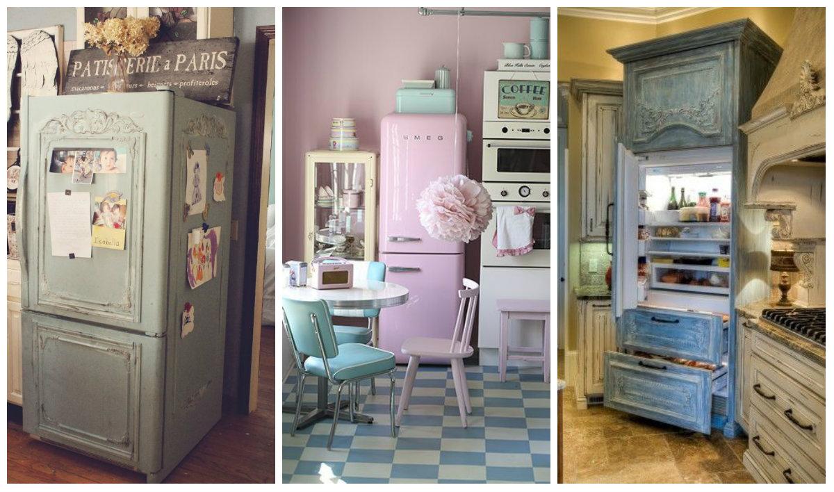 Eccezionale Tutte le facce del frigorifero Shabby Chic - Arredamento Provenzale PP67