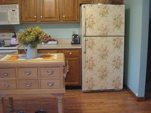Tutte le facce del frigorifero shabby chic arredamento - Decorare frigorifero ...