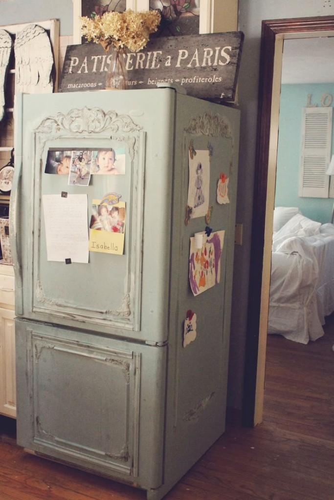 spesso Tutte le facce del frigorifero Shabby Chic - Arredamento Provenzale XT22