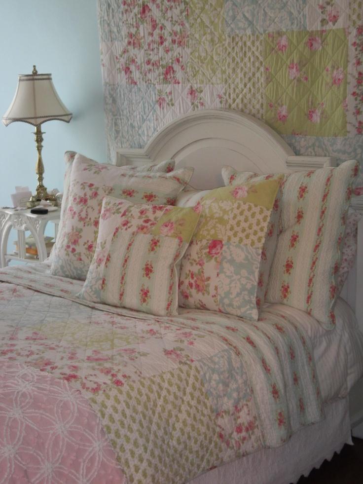 Le pareti shabby chic della camera da letto arredamento - Camera da letto boho chic ...