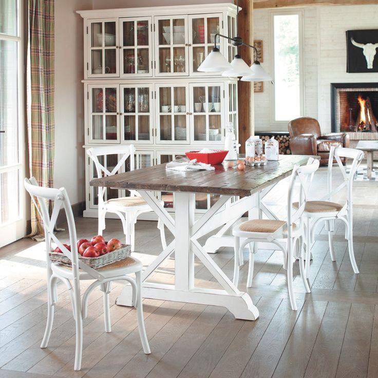 Maison Coloniale Arredamento.La Magia Del Bianco Shabby Chic Con Maison Du Monde