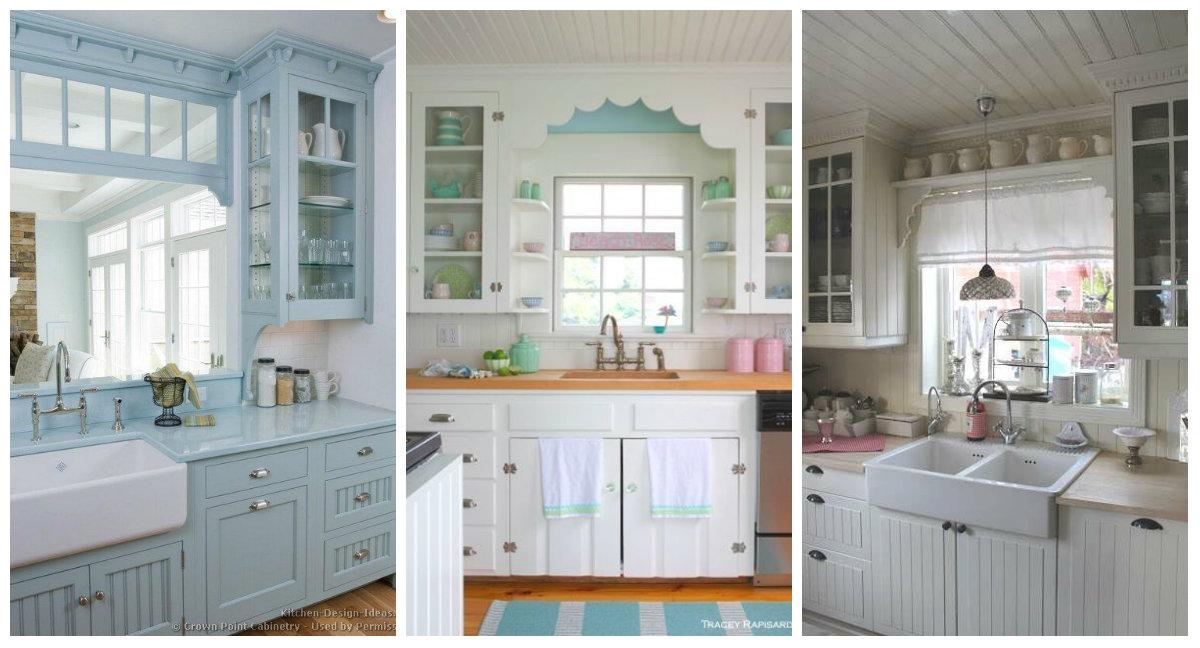 Come arredare la zona del lavandino della cucina in stile - Sifone lavandino cucina ...