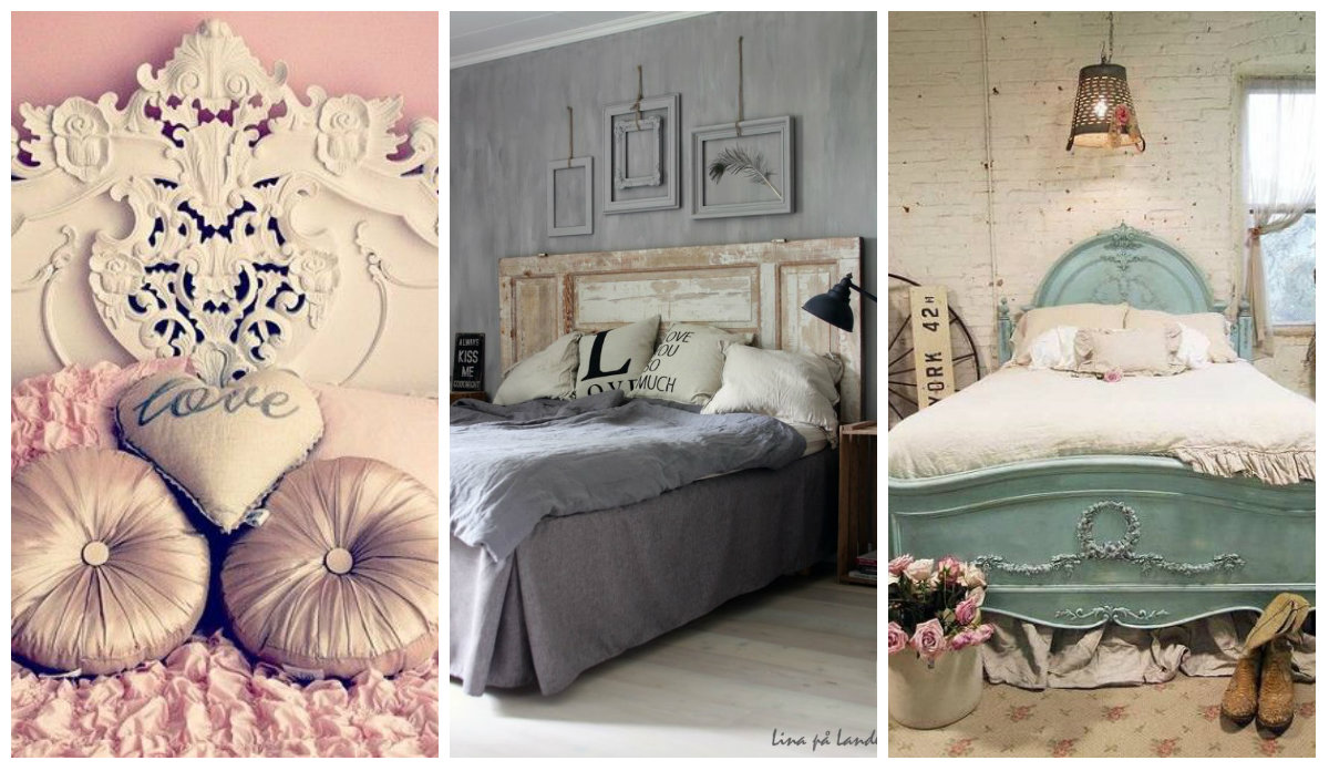 Testata letto shabby chic : testate letto shabby chic roma ...