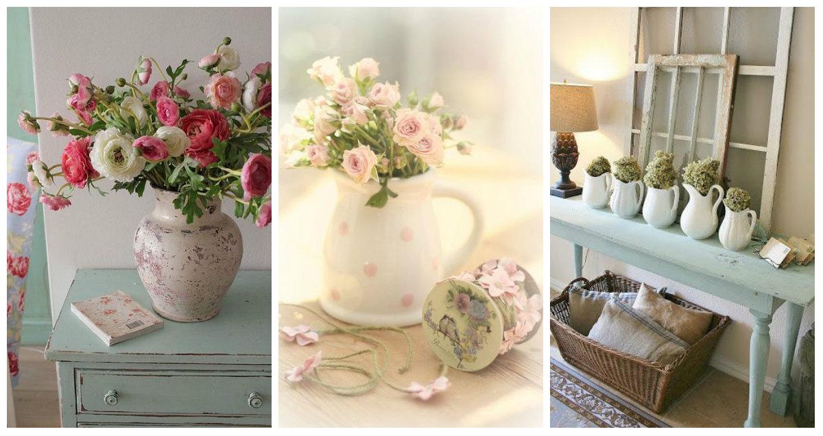 Copertina fb vasi fiori shabby arredamento provenzale for Fb arredamenti