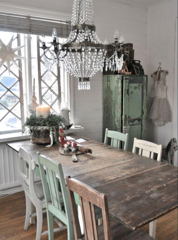 Le sedie da cucina in stile Shabby Chic - Arredamento ...