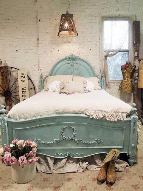 Consigli per la testata del letto shabby chic   arredamento provenzale