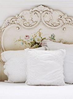 Consigli per la testata del letto shabby chic - Testate letto shabby chic ...