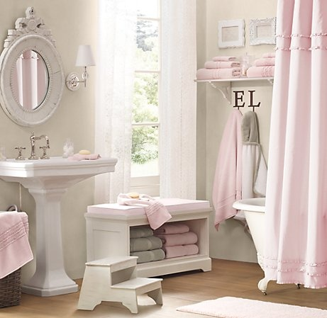 bagno-biancheria-rosa