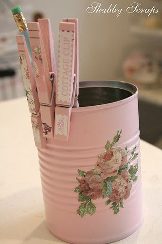 barattolo-decoupage-rosa