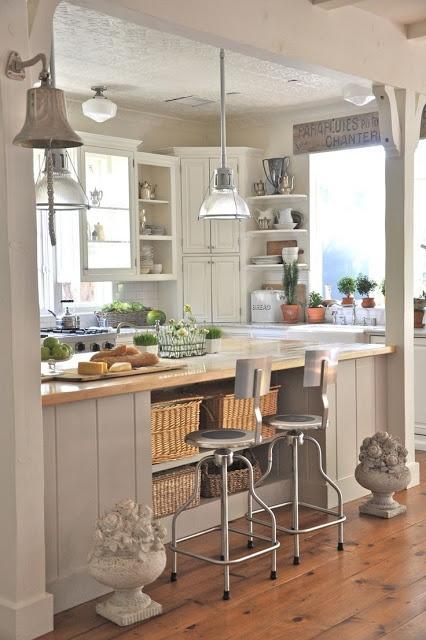 Idee consigli e dettagli che fanno la differenza per dei cesti da cucina shabby chic - Cesti estraibili per cucine ...