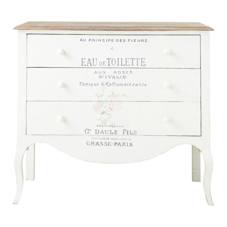 I dettagli della camera da letto shabby chic su maison du monde catalogo 2015 arredamento - Tende camera da letto maison du monde ...
