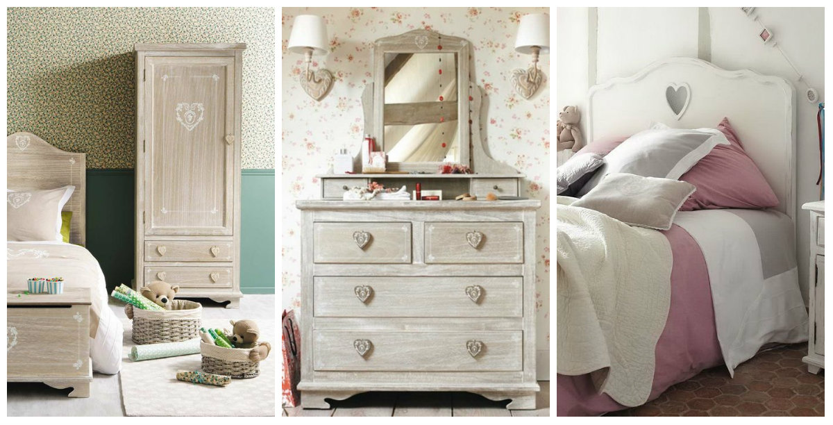 i dettagli della camera da letto shabby chic su maison du monde catalogo 2015 arredamento. Black Bedroom Furniture Sets. Home Design Ideas